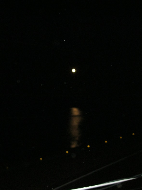 Moon on the water 002