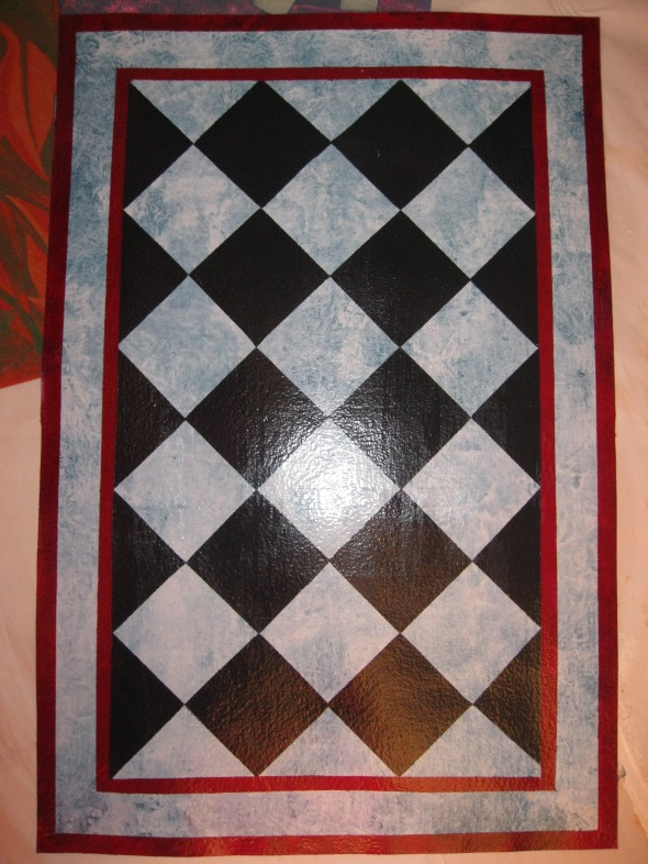 Traditional floor cloths